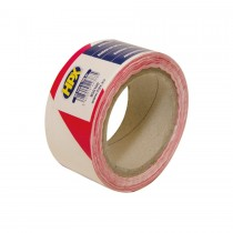 Rol afzetband rood/wit 5 cm x 100 m