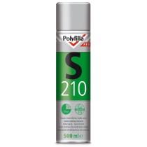 Polyfilla S210 isoleercoating geurarm spuitbus 0.5l