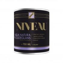Niv. Aqua Natura PU zijdeglans 0.75l Wit