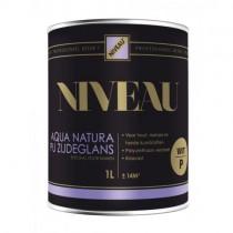 Niv. Aqua Natura PU zijdeglans 0.75l RAL9010