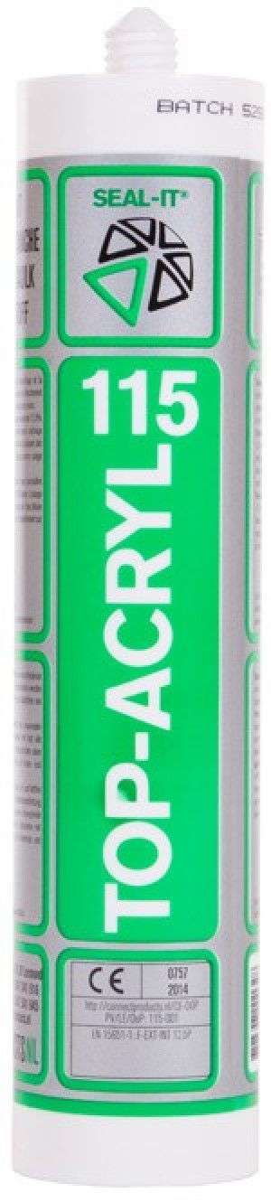 Connect Seal-It 115 Top-Acryl 310ml Wit